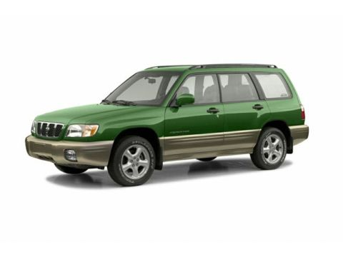 Subaru Forester 2002 4-door SUV