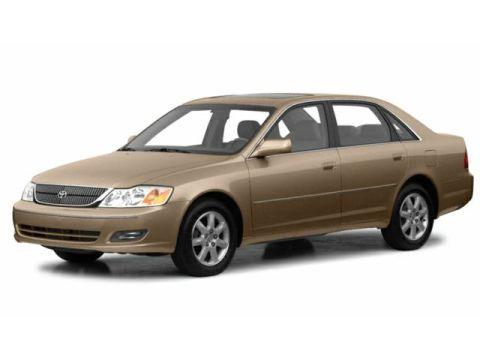 Toyota Avalon Change Vehicle