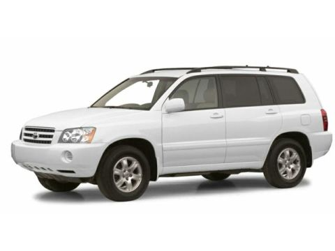 Toyota Highlander 2001 4-door SUV