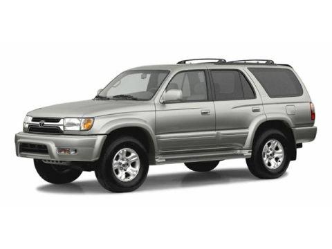 Toyota 4Runner Change Vehicle