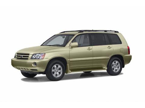 2002 Toyota Highlander Reliability Consumer Reports