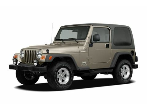Jeep Wrangler 2006 2-door SUV