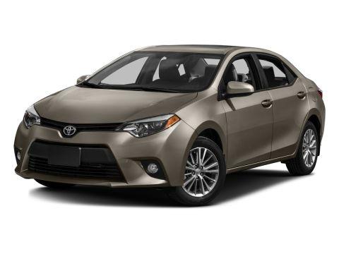 Toyota Corolla Change Vehicle