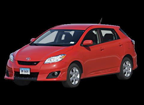 Toyota Matrix Change Vehicle