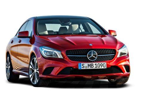 Mercedes Benz CLA Change Vehicle