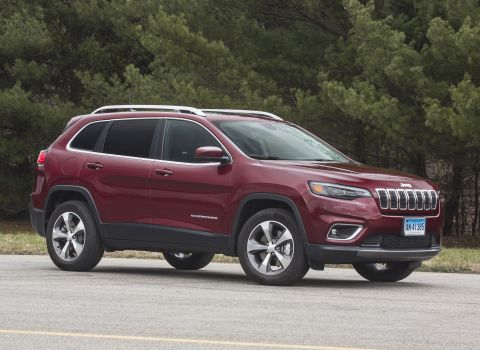 2019 jeep cherokee reviews ratings prices consumer reports. Black Bedroom Furniture Sets. Home Design Ideas