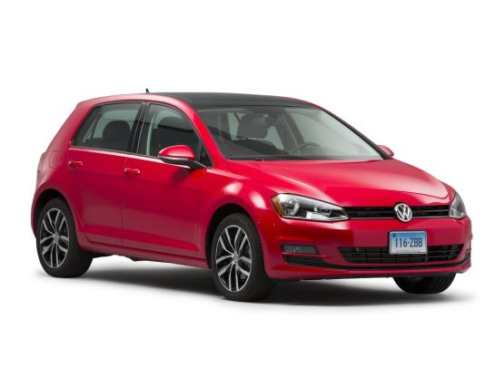 Volkswagen Golf 2018 4-door hatchback
