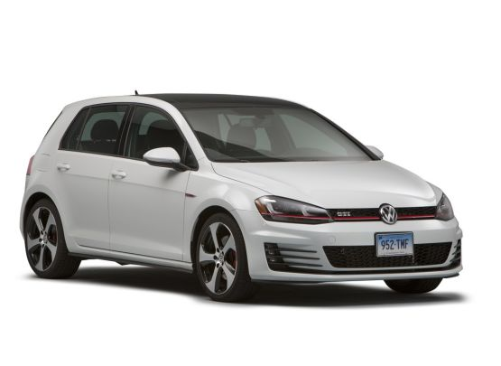 Volkswagen GTI 2018 4-door hatchback