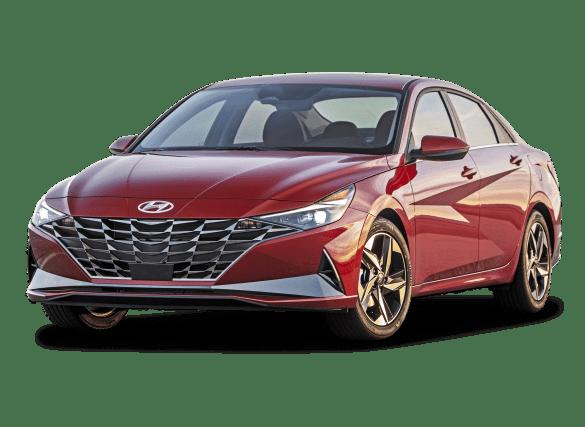 Hyundai Elantra 2021 sedan