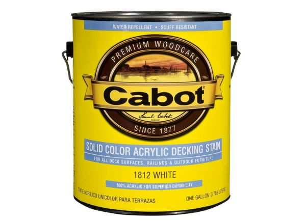 Cabot Solid Color Acrylic Siding...