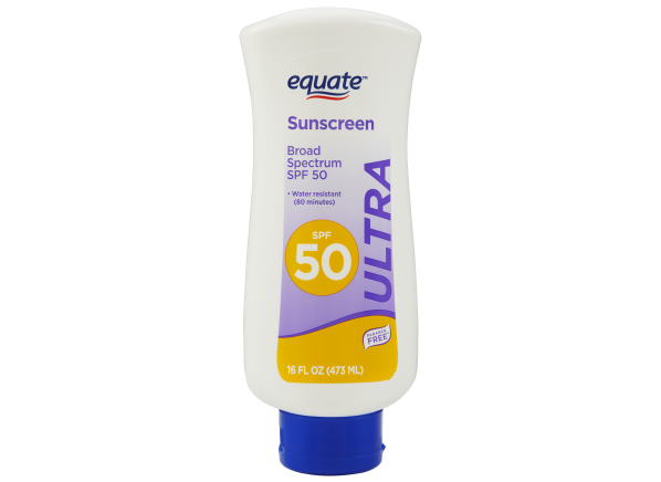 Equate (Walmart) Ultra Lotion SPF 50