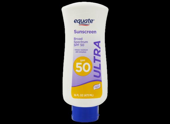 Equate (Walmart) Ultra Lotion SPF 50