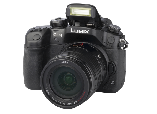 Panasonic Lumix DMC-GH4 w/...
