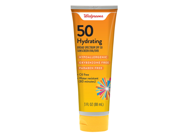 Walgreens Hydrating Lotion SPF 50