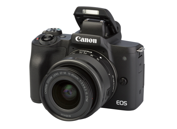 Canon EOS M50 w/EF-M 15-45mm IS STM
