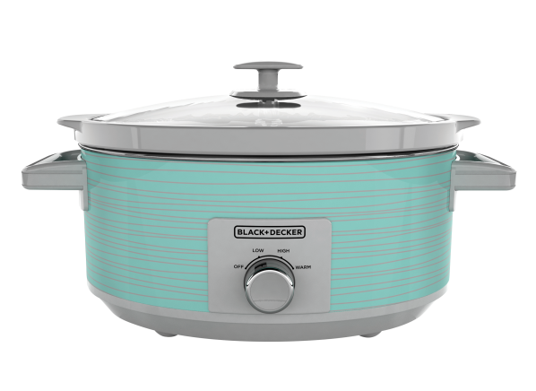 Black+Decker Teal Wave 7 Qt, Dial...