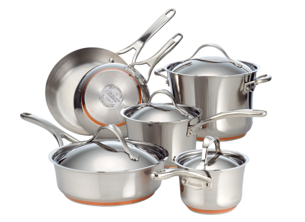 Anolon Nouvelle Copper Stainless...