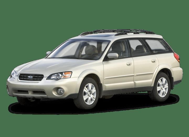2005 Subaru Outback Rear Brakes