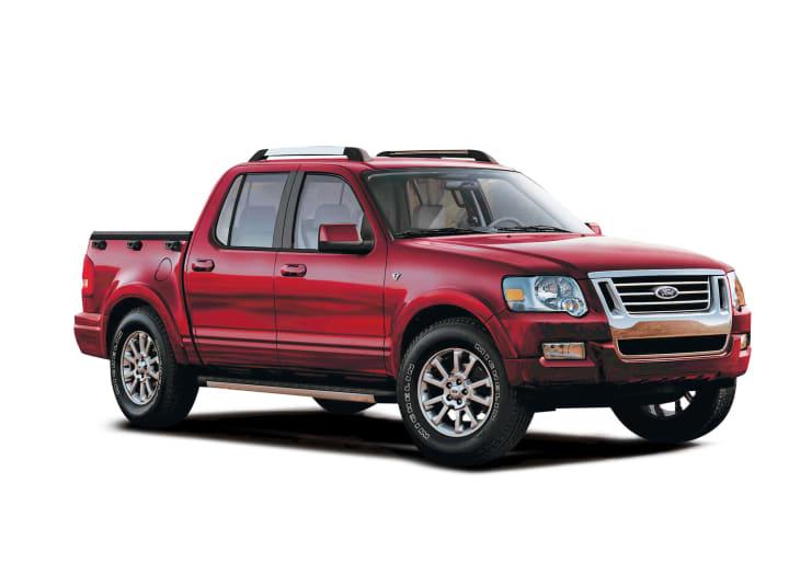 2007 Ford Explorer Sport Trac >> 2007 Ford Explorer Sport Trac Reviews Ratings Prices