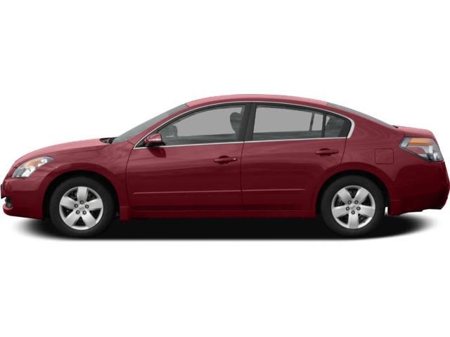 Nissan 2007 Profile Facing To The Left Sedan