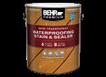 Premium Semi-Transparent Waterproofing Stain & Sealer (Home Depot)