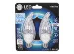 60W Equivalent Dimmable Soft White Clear CA11 LED