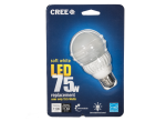 75W Soft White A19 Dimmable LED