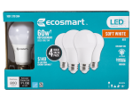 60W Equivalent Soft White A19 Dimmable LED