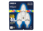 TW Series 40W Equivalent Dimmable Candelabra LED