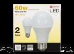 9 Watt 60W Equivalent A19 Warm White LED