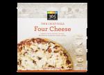 Thin Crust Pizza Four Cheese