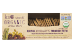 Organic Artisan Crisps Raisin, Rosemary & Pumpkin Seed