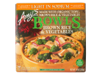 Bowls Light in Sodium Brown Rice & Vegetables