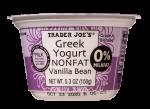 Nonfat Greek Yogurt Vanilla Bean