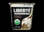 Whole Milk Yogurt Madagscar Vanilla Bean