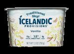 1.5% Milk Fat Traditional Skyr Yogurt Vanilla