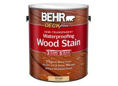 Behr Premium Semi-Transparent Waterproofing Stain & Sealer ...