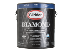 Behr premium plus home depot paint summary information from consumer reports for Glidden premium interior paint reviews
