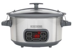 Hamilton Beach Temp Tracker 33866 6 Qt Slow Cooker