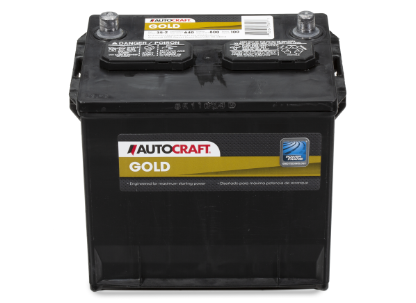 Autocraft Gold 35-2 car battery