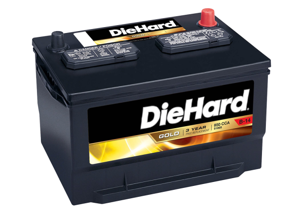 DieHard Gold 50865 (North) car battery