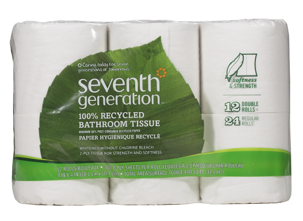 Seventh Generation bath tissue toilet paper