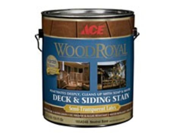 Ace Wood Royal Semi-Transparent Deck & Siding