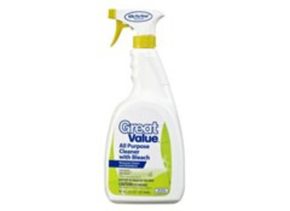 Great Value All Purpose Cleaner with Bleach (Walmart) all-purpose cleaners