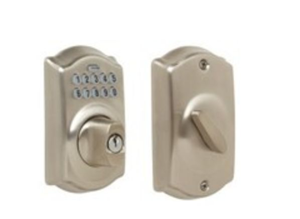 Schlage BE365 V CAM 619 door lock - Consumer Reports