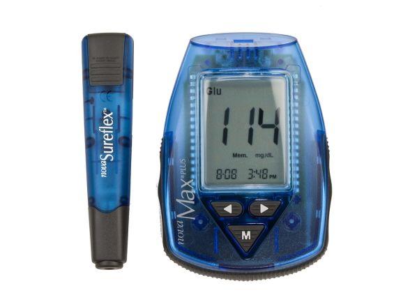 Nova Max Plus Advanced Technology blood glucose meter