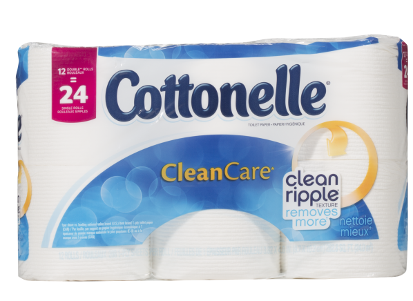 Cottonelle CleanCare toilet paper
