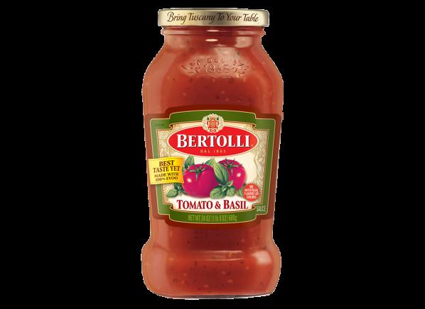 Bertolli Tomato & Basil pasta sauce