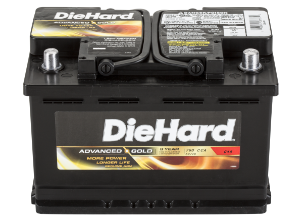 DieHard Advanced Gold 50748 car battery