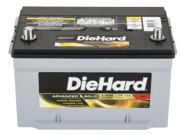DieHard Advanced Gold 50765 car battery